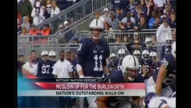 11/14- Nittany Nation Report- McGloin Up For Burlsworth Trophy