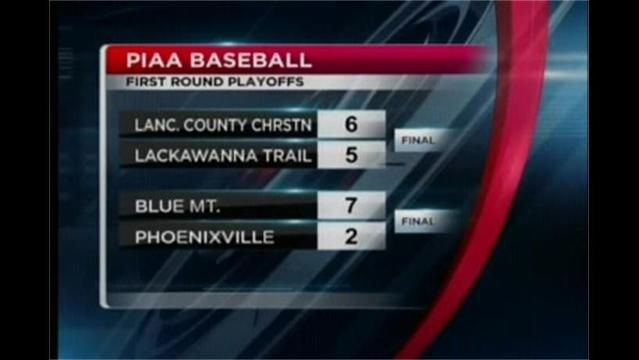 6/5- PIAA Baseball and Softball 1st Round Playoffs