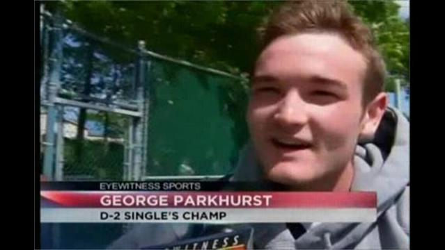 5/11- Parkhurst Twins Play for District 2 Tennis Championship