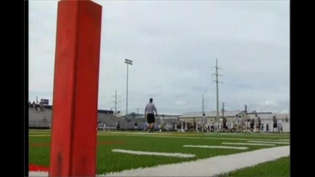 8/13 First Day Of Practice For High School Football