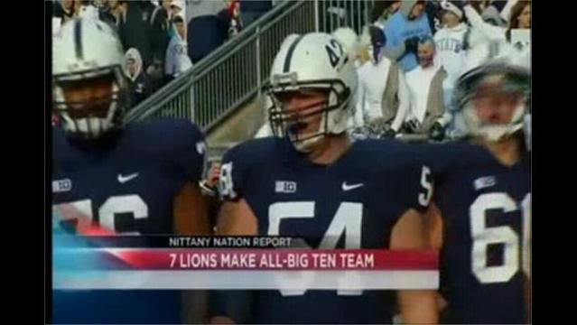 11/26- Six Nittany Lions Named First-Team All-Big Ten