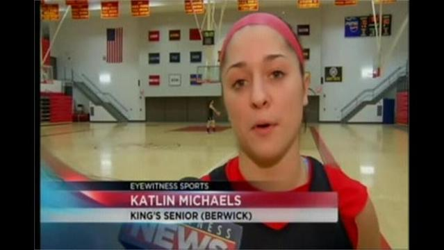2/21- KING'S WOMEN PLACE MICHAELS, RADER, ATCHISON ON ALL-FREEDOM CONFERENCE SQUAD