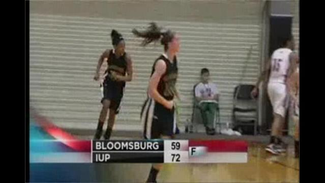 3/15- D-2 NCAA Womens Tournament- IUP 72 Bloomsburg 59