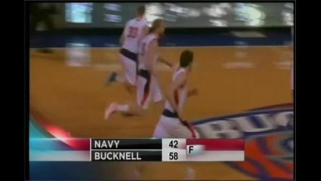 3/6- Bucknell 58 Navy 42 First Round of Patriot League Tournament