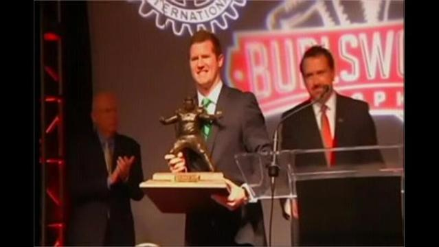 12/3- McGloin Wins Burlsworth Trophy
