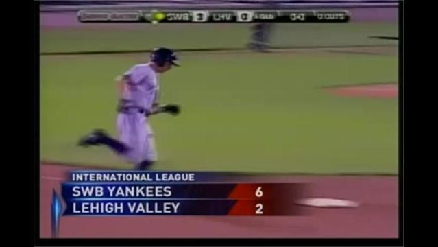 8/31- SWB Yankees 6 Lehigh Valley Iron Pigs 2