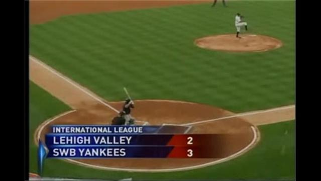 8/2- SWB Yankees 3 Lehigh Valley Iron Pigs 2
