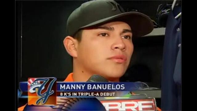 8/3- Manny Banuelos Talks About Strong Triple-A Debut