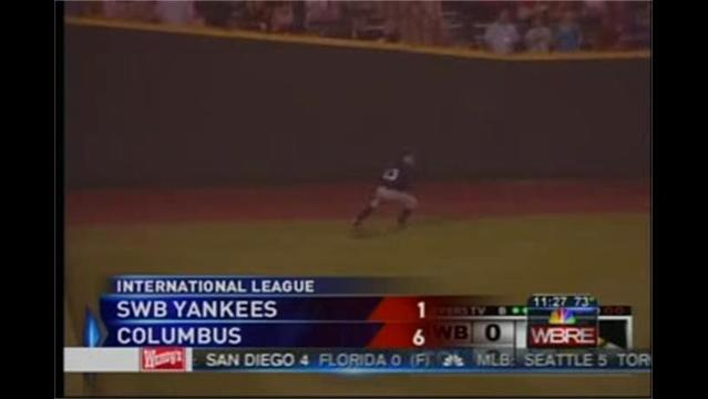 7/19- Columbus 6 SWB Yankees 1
