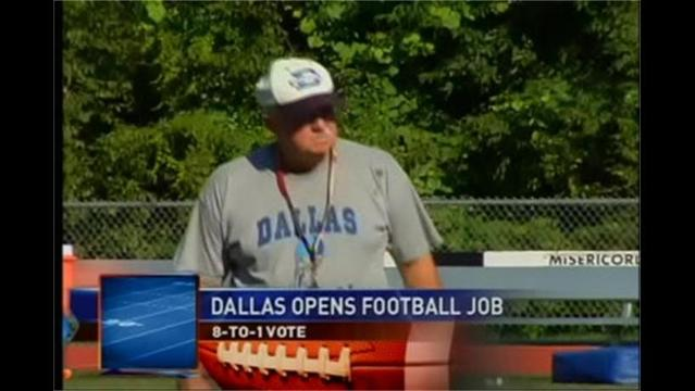 12/12- Dallas School Voted 8-to-1 to Open Football Coaching Job