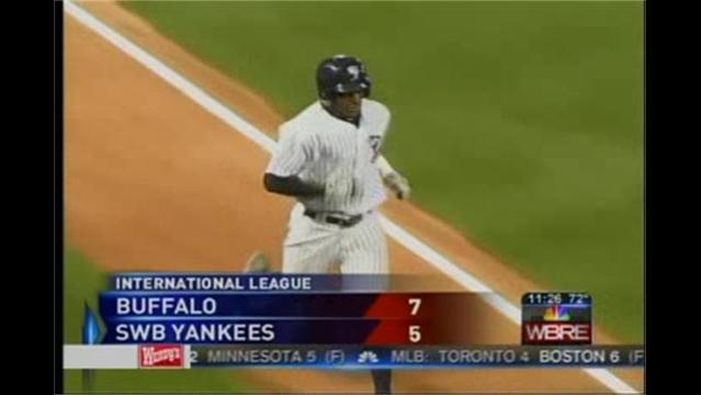 7/6- Buffalo 7 SWB Yankees 5