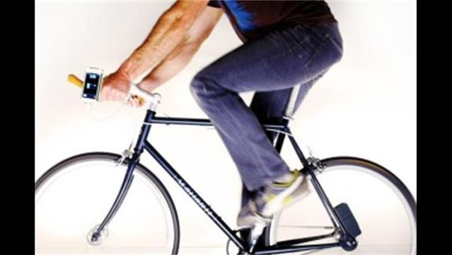 The Siva Cycle Atom captures kinetic energy, to power your gadgets during or after your bike ride