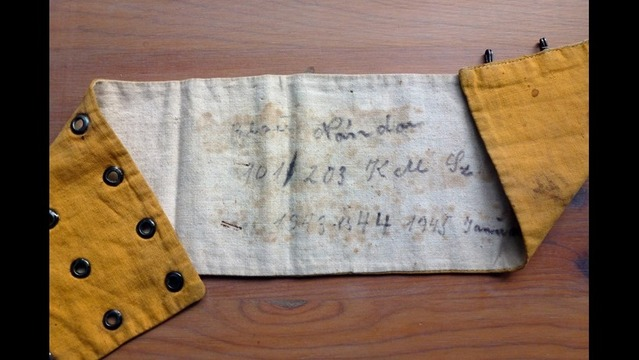 Family Shares Precious Artifact for Holocaust Course