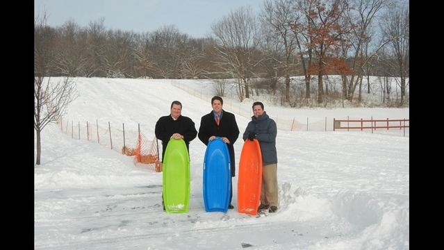 Commissioners Promote Sleigh Riding At McDade Park