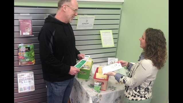 West Pittston Library Offers Seed Library
