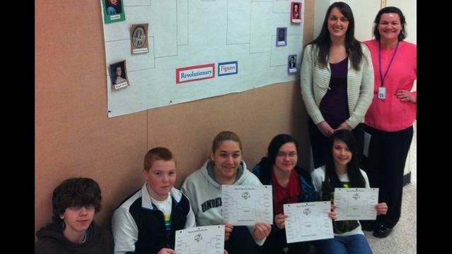Madness and Brackets at Wallenpaupack Area Middle School