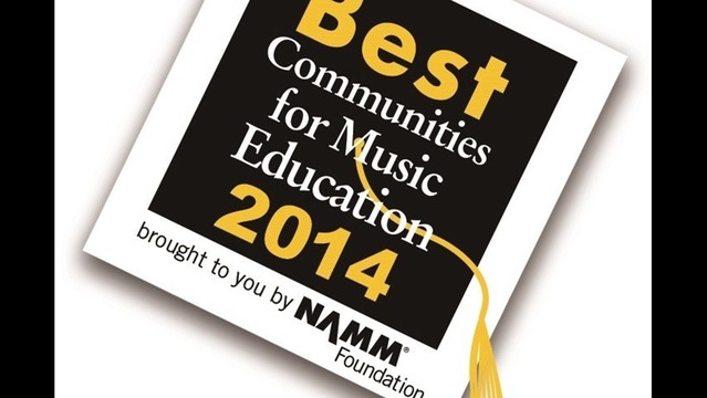 Williamsport Among Nation's Top Communities for Support of Music Education