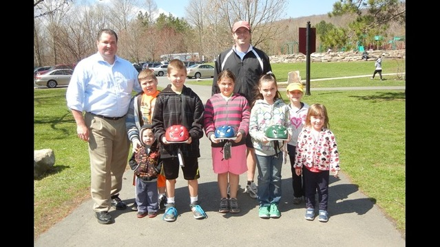 2014 Bike Safety Fair Draws Over 300 Youngsters