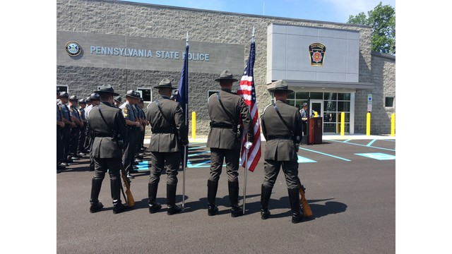 PSP dedicates new Stroudsburg Barracks
