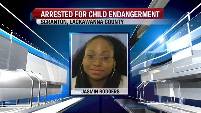 Scranton woman charged with child endangerment