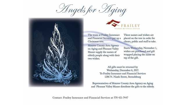 Annual Angels for Aging campaign 2017