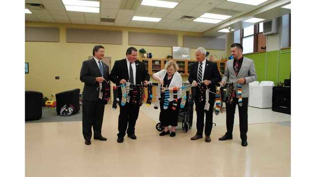 Lackawanna College holds open house and ribbon cutting celebration for new OTA program