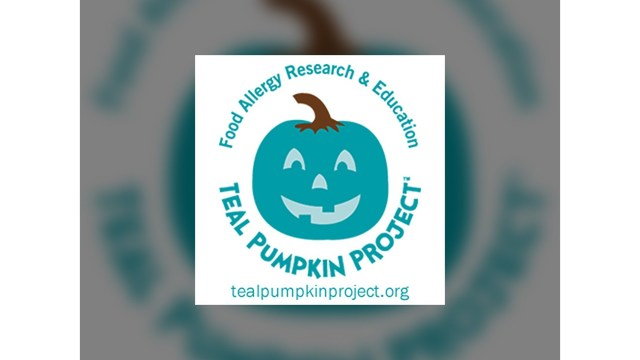 Teal pumpkins help children with food allergies enjoy Halloween
