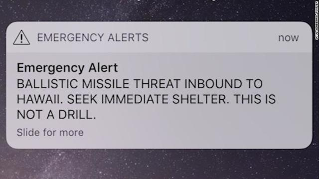 PEI couple 'relieved' to return home after false ballistic missile alert