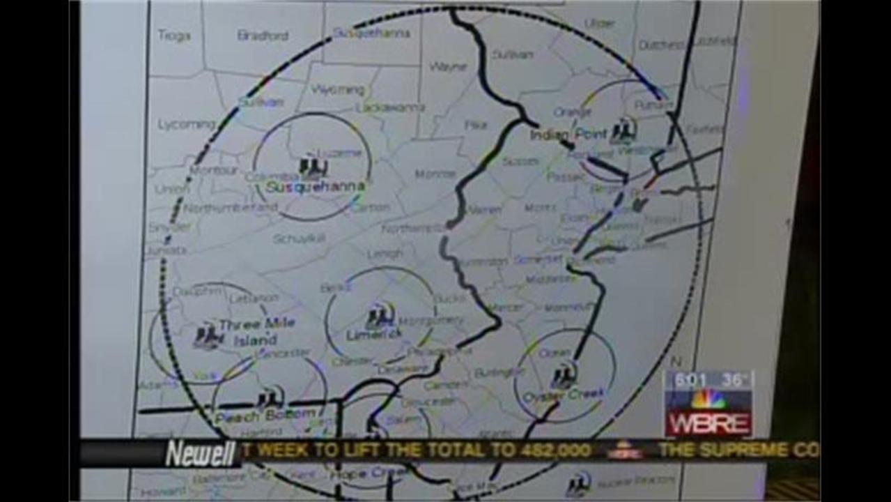 Study Reveals Eastern PA Cancer Clusters