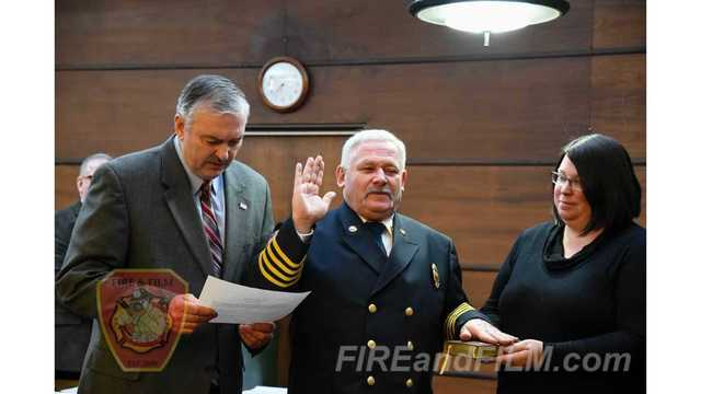 Pottsville Welcomes New Fire Chief