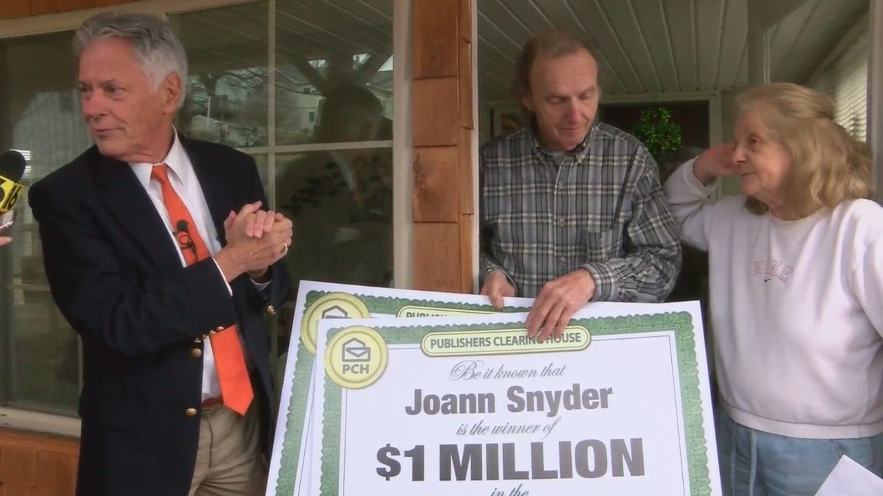 Publishers Clearing House Big Winner   PAHOMEPAGE