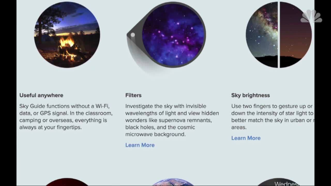 Web Extra: Stargazing Apps: The Skies In Your Pocket