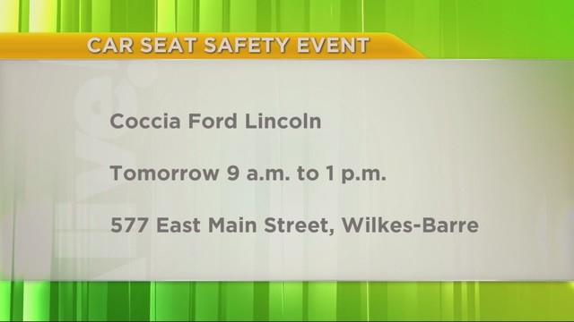 PA Live Coccia Ford Lincoln Car Seats September 21 2018
