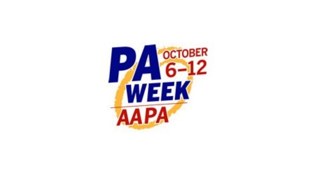 October 6 through October 12 is National Physician Assistant Week 2018