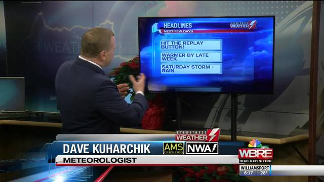 Dave Kuharchik 6 PM Weather Tue Dec 11th
