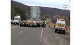 Big Rig Makes Planned Stop and Slows Traffic