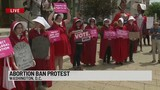 Abortion ban protest in Washington, D.C.