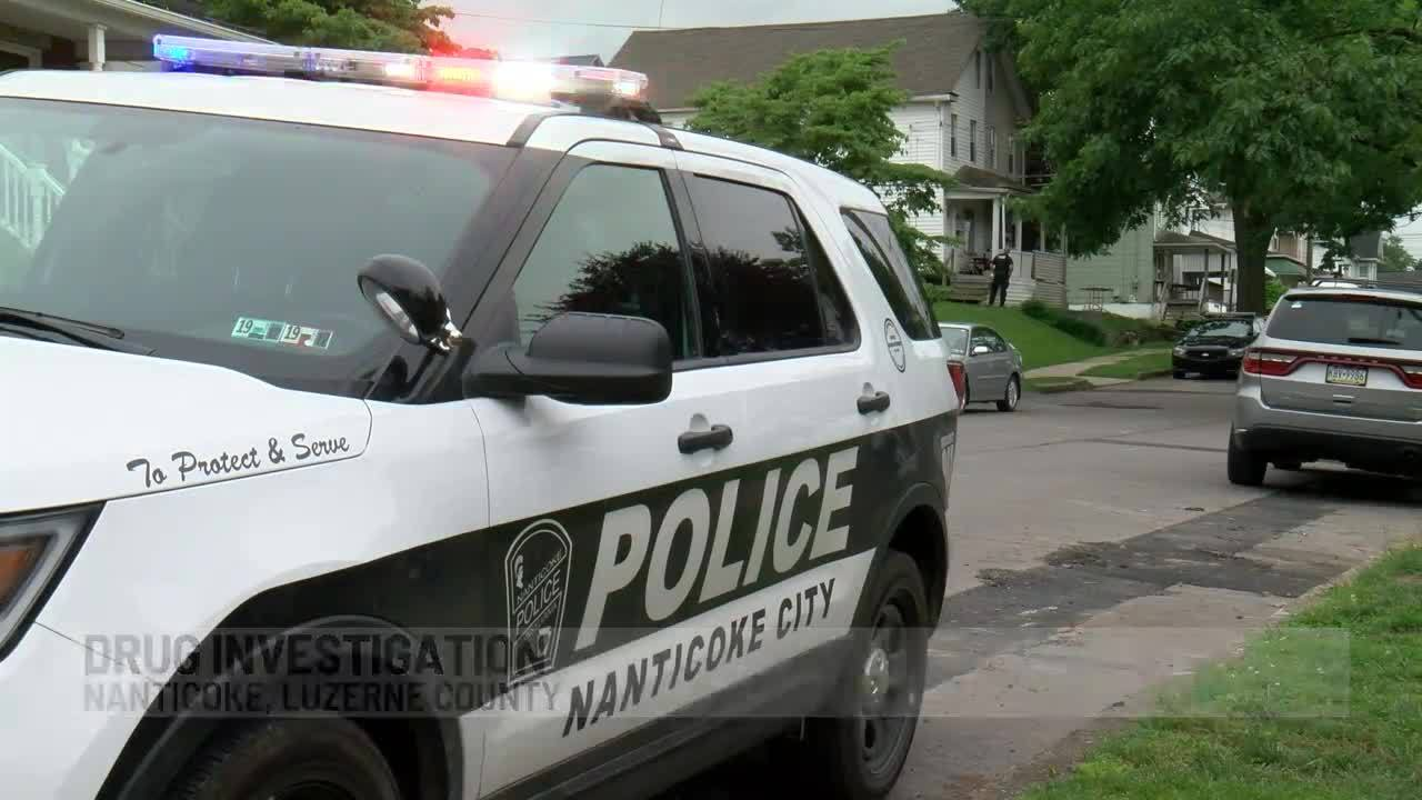 One person in custody after Nanticoke drug raid